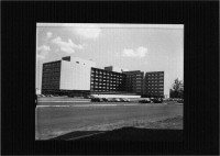University Hospital in 1955 (MDAH Collection)