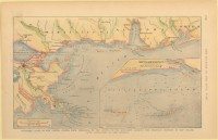 Map of Gulf Coast showing Ship Island, 1861 (MDAH Collection)
