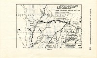Probable route of DeSoto to Mississippi River (MDAH Collection)