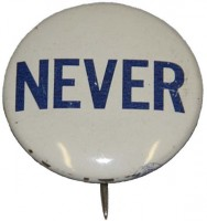 """Never"" Desegregation Button"