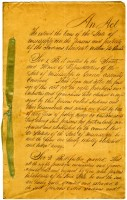 Acts of the General Assembly 1817-1857 (MDAH Collection)