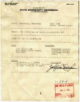 Report on Clyde Kennard (MDAH Collection)