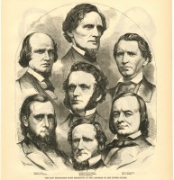 Mississippi congressional delegation in 1861 (MDAH Collection)