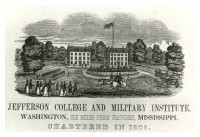 Jefferson College and Military Institute (MDAH Collection)