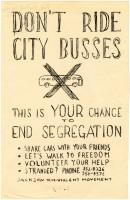 Jackson City Bus Boycott (MDAH Collection)