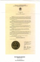 Governor Musgrove's proclamation (Tougaloo Collection, MDAH)