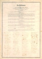Ordinance of Secession (MDAH Collection)